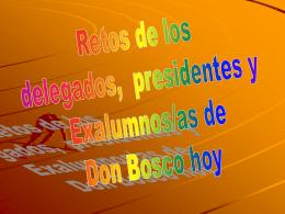 """Power Point José Pastor - Asociación de La Coruña """"San Juan Bosco"""""""