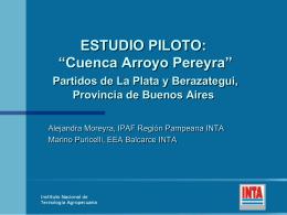 Estudio Piloto de la Cuenca del Arroyo Pereyra