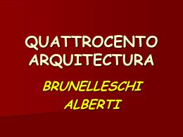 Arquitectura del Quatrocento - IES JORGE JUAN / San Fernando