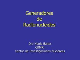 generadores_hb - Centro de Investigaciones Nucleares