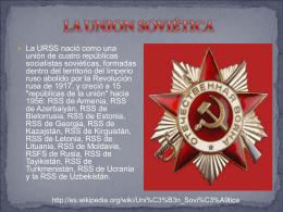 El fin de la Unión Soviética - Sociales-TIC