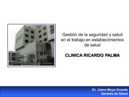 Dr. Jaime Moya Grande [CLINICA RICARDO PALMA]