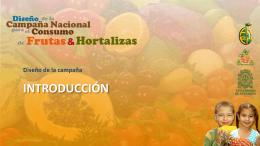 Por qué consumir Frutas y Hortalizas?