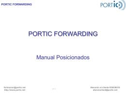 Para PORTIC FORWARDING