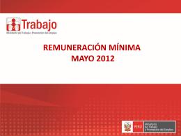 Sustentación de 2do tramo de la remuneracion minima