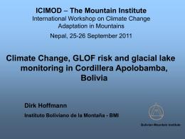 glaciers - Cambio Climático Bolivia