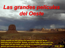 Westerns - Juan Cato