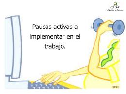 ejercicios recomendados para las pausas en el trabajo