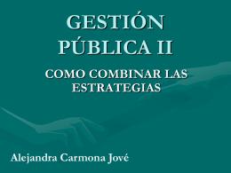 GESTION PÚBLICA II