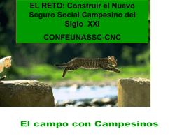 Confederación del seguro campesino Ecuador