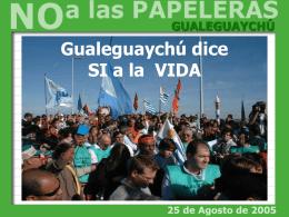 Contaminación del Río Uruguay
