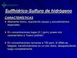 Sulfhídrico-Sulfuro de hidrógeno