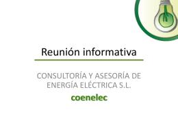 Coenelec presentacion (28 de Julio 2014)