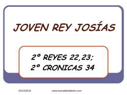 Rey Josias - Buscad Y Hallareis