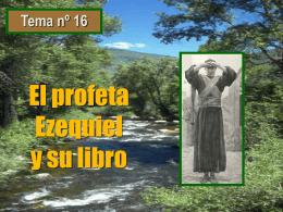El libro del profeta Ezequiel