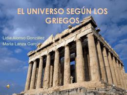 EL UNIVERSO SEGÚN LOS GRIEGOS
