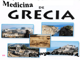 8.- octava clase medicina griega