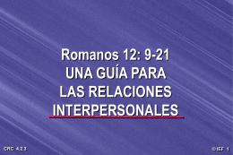 Relaciones del Misionero