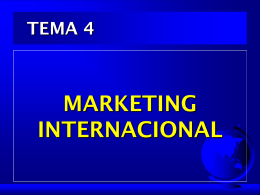 CONCEPTO DE MARKETING INTERNACIONAL