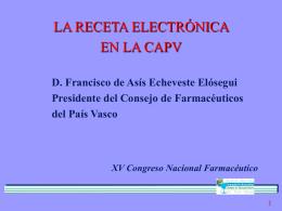 EVALUACIÓN DE LA FARMACIA EN LA CAPV