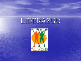 LIDERAZGO - WordPress.com