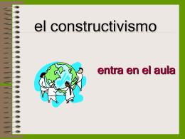El Constructivismo - Redes profesionales de CEPIndalo