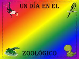 Un día en el zoológico - Spanish7-8