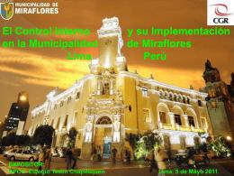 ¿Qué es el Control Interno? - Municipalidad de Miraflores
