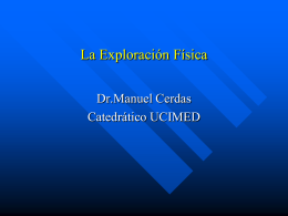 La_Exploracion_Fisica - Blog 5 Semestre UCIMED I-2011