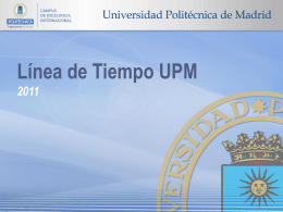 Diapositiva 0 - Universidad Politécnica de Madrid