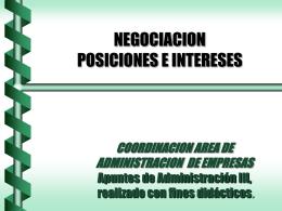 admon 3 negociacion posicion – intereses