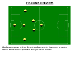 posiciones defensivas