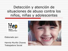 Prevención del abuso hacia niños y niñas