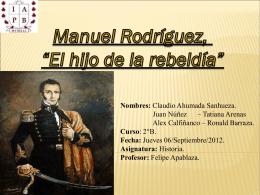 (Manuel Rodríguez).