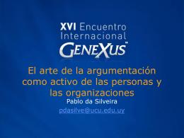 es un activo de las personas y de las organizaciones.