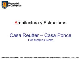 Arquitectura y Estructuras