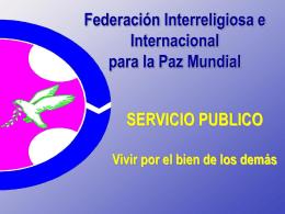 Servicio Publico