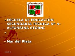 Armar un plan de estudio - Escuela de Educación Secundaria