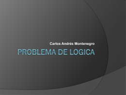 PROBLEMA DE LOGICA