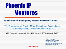 Phoenix IP Ventures - Global Vaccines 202X