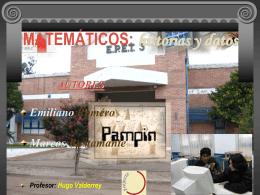Matemáticos: historias y datos