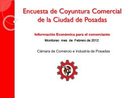 encuesta_coyuntura_febrero - Cámara de Comercio e Industria