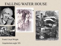 FALLING WATER HOUSE - IES Guillem de Berguedà
