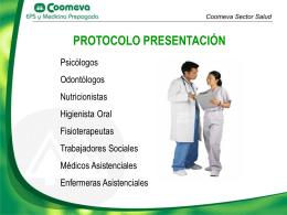 Protocolo personal asistencial