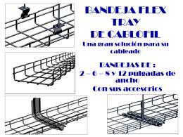 BANDEJA FLEX TRAY DE CAFLOFIL