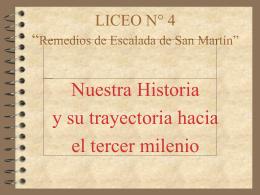 """LICEO N° 4 """"Remedios de Escalada de San Martín"""""""