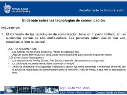 Diapositiva 1 - Fernando Gutiérrez :: Tecnología y Sociedad