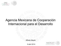 Agencia Mexicana de Cooperación Internacional para