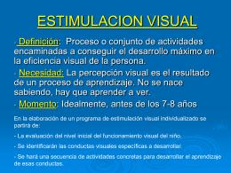 ESTIMULACION_VISUAL - Plataforma colaborativa del CEP