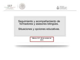 Presentación de PowerPoint - Cursos y Materiales del MEVyT